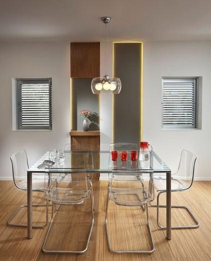 Modern Furniture Dining Room Set: Modern Formal Dining Room Set
