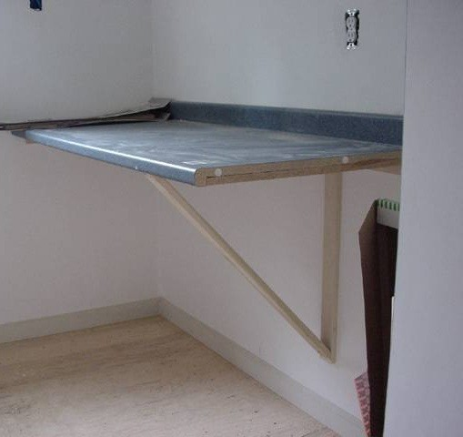 Handmade Folding Table Laundry Room Home Interiors