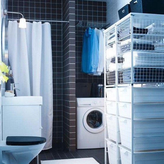Ikea Laundry Storage For Organization Room Home Interiors