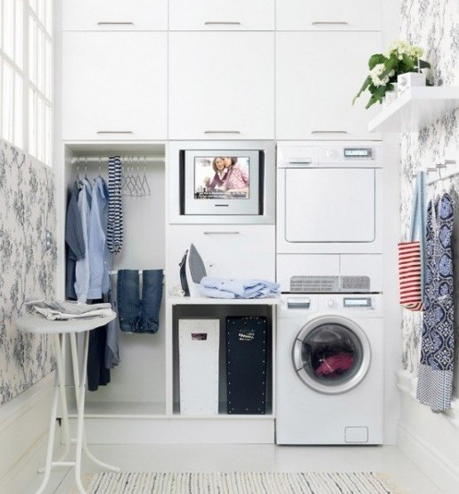 ikea laundry room cabinet ideas home interiors. Black Bedroom Furniture Sets. Home Design Ideas
