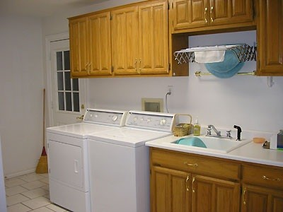 Laundry Room Sink With Cabinet Model Home Interiors