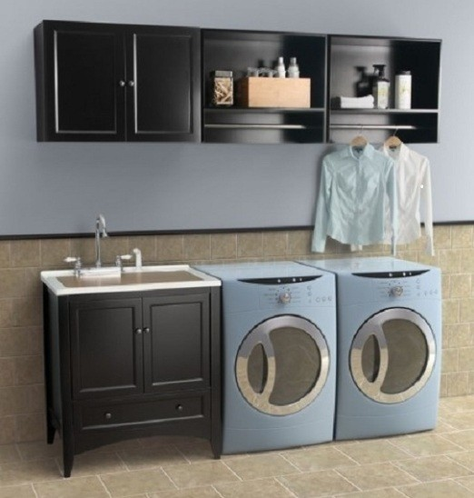Utility Room Sink With Cabinet : laundry room sink cabinet laundry room sinks laundry sink with cabinet ...