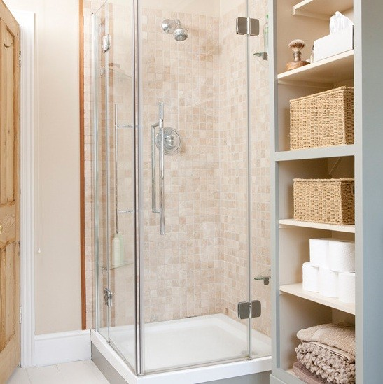 Light Brown Shower Tile Design Home Interiors