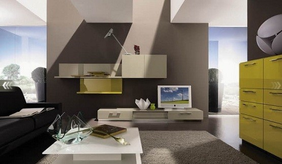 Interesting Modern Living Room Storage Units Unique Design Rooms