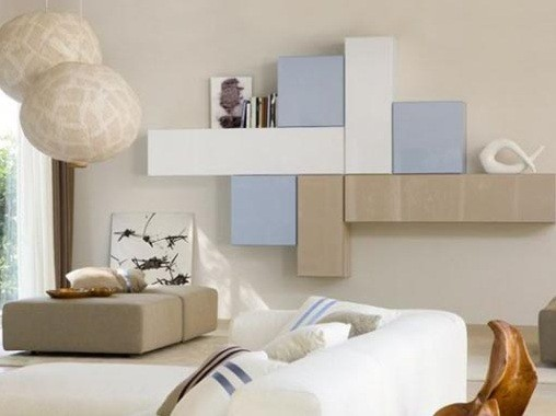 Modern Wall Storage Furniture For Living Room Home Interiors