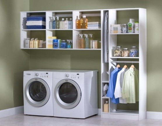 Simple small laundry room organization ideas | Home Interiors on Small Laundry Room Organization Ideas  id=57231
