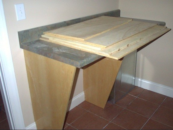 Handmade Laundry room Folding table | Home Interiors
