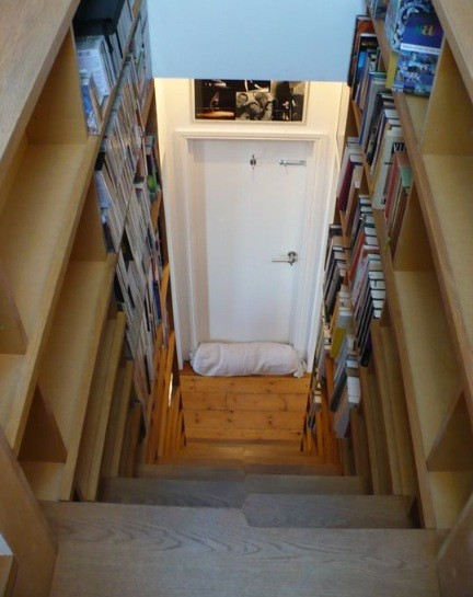 Small storage staircase ideas