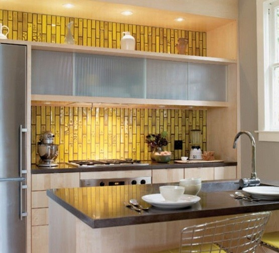 Wall Kitchen Design: Wall Tile Design Ideas For Modern Kitchen