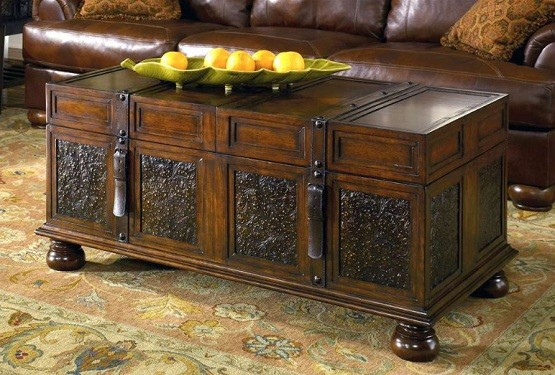 Living Room Storage Table | New House Designs