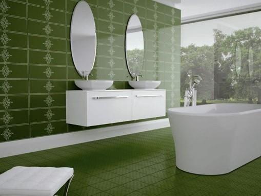Decorative bathroom wall ceramic tiles design home interiors for Decorative bathroom wall tile