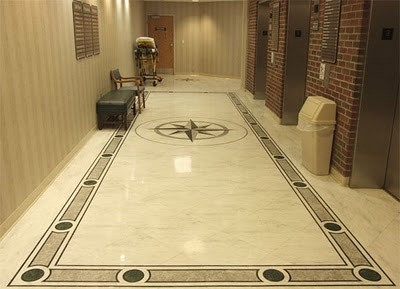 Elegant And Clean Floor Tile Patern Design Home Interiors
