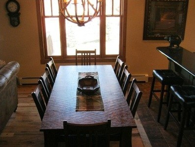Oversized Dining Room Table Benefits » Extra Seating And Large Dining Table