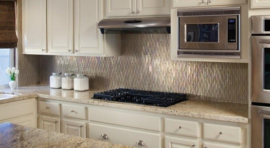 glass tiles for backsplash in the kitchen glass tile for backsplash in white kitchen - Backsplash White Kitchen