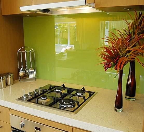 Green Gl Tile For Backsplash Home Interiors