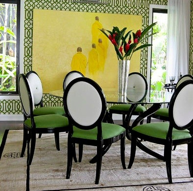 Dining Room Wallpaper Ideas and Considerations | Home Interiors
