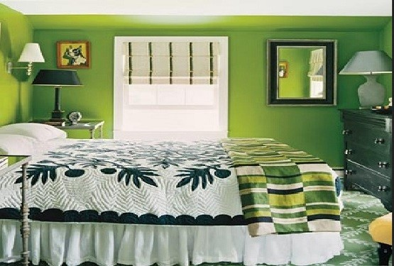Green Bedroom Ideas U2013 Bring The Fresh Look To Your Room » Interior Bedroom  Design With Natural Green Color