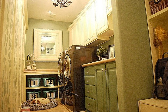 laundry room ideas for organized storage | Home Interiors