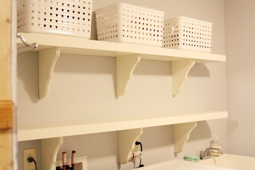 Ideas for Laundry Storage Solution in Tiny Area