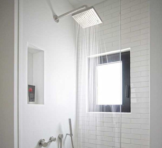 Simple White Shower Tile Design Ideas Home Interiors