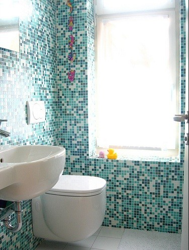 small tile designs for small bathroom | Home Interiors