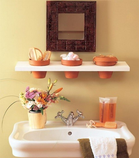Storage Ideas for Small Bathroom for simple and stylish bathroom ...