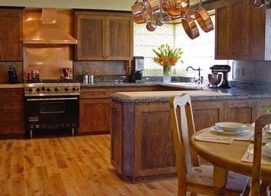 Wooden Style Kitchen Floor Tile Designs Home Interiors