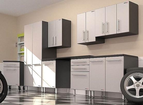 Merveilleux Modular Garage Cabinets Make Your Garage Look Tidy » Black U0026 White Modular Garage  Cabinets