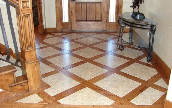 Tile And Hardwood Flooring To her