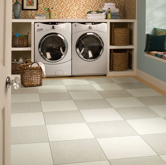 Laundry Room Floor Ideas | Decoration Empire