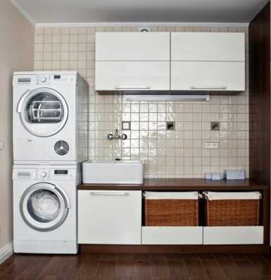 Laundry Room Design » Minimalist appliances for small laundry room