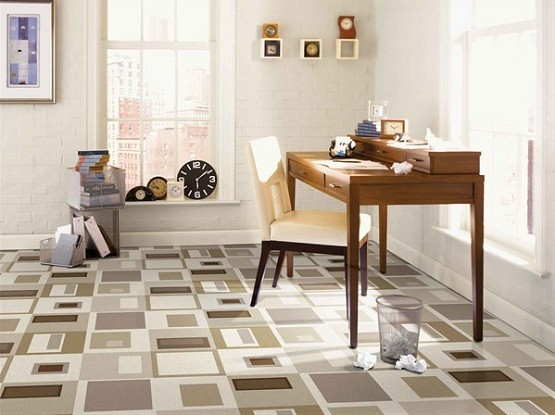Amazing Vinyl Flooring Design For The House Rooms » Modern SquareDance  Vinyl Flooring Design