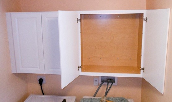 Proper installation wall cabinets