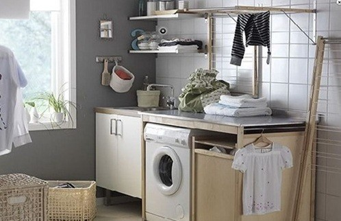 small laundry room furniture design | home interiors