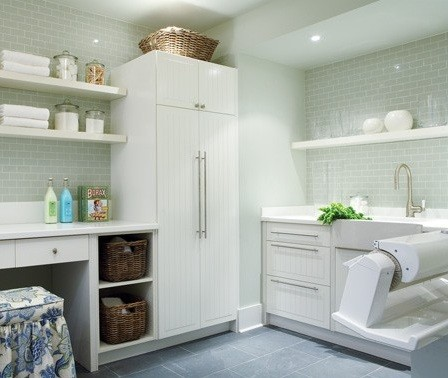 white cabinetry laundry room from ikea | home interiors Ikea Laundry