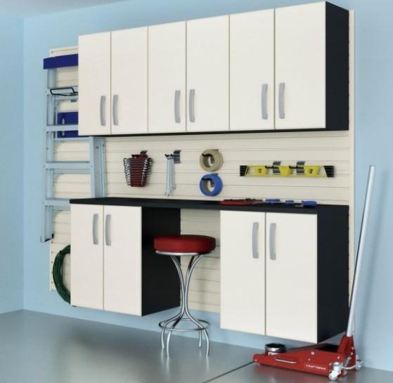 Modular Garage Cabinets Make Your Garage Look Tidy » Wall Garage Cabinets  Sets