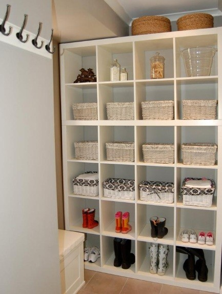 Laundry Room Storage Shelves Design for Your Laundry Room Decor ...