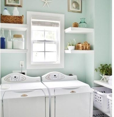laundry room storage shelves design for your laundry room decor laundry room storage shelves as room decor - Laundry Room Decor