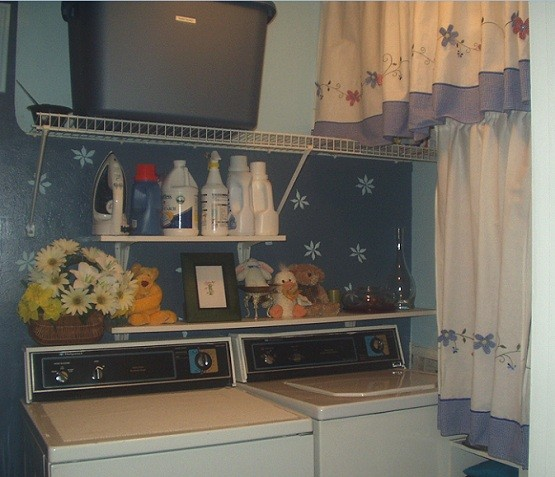 Small Laundry Room Storage Ideas and Design