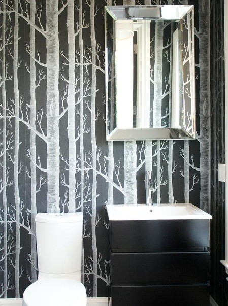 wallpaper bathroom ideas for small bathroom 10 creative small shower