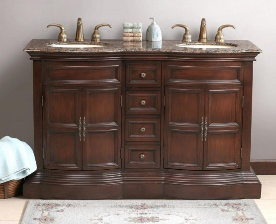 Traditional bathroom vanity designs for Classic vanities bathrooms