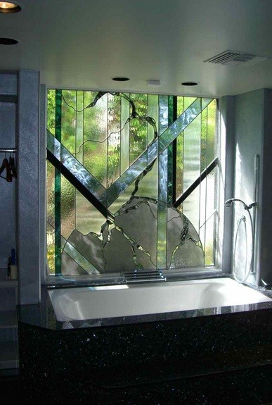 bathroom window ideas to complement your bathroom home interiors