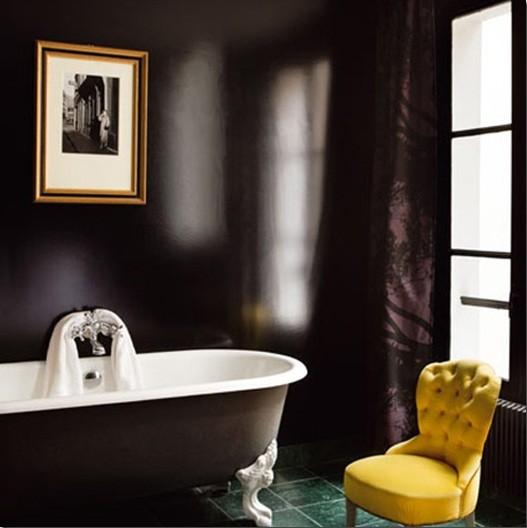 High Gloss Bathroom Paint Ideas