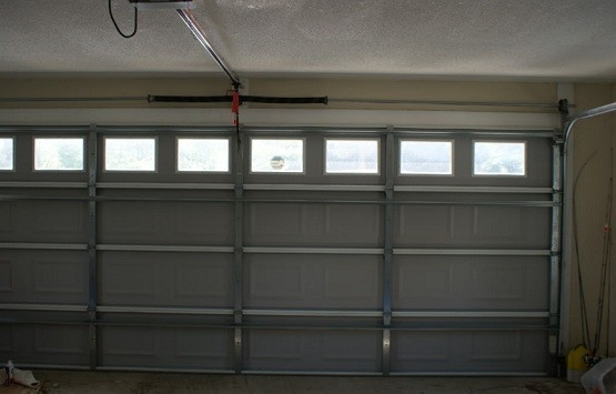 18 ft garage door with door tracks - 16 Ft Garage Door