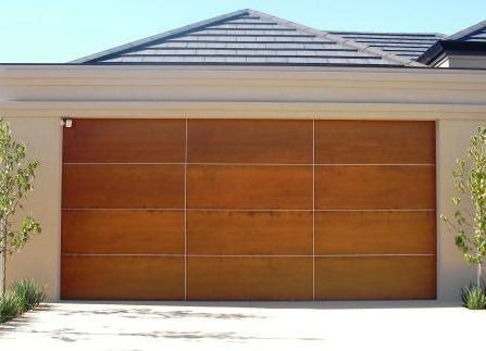 4 Section And 3 Panel Garage Door Home Interiors