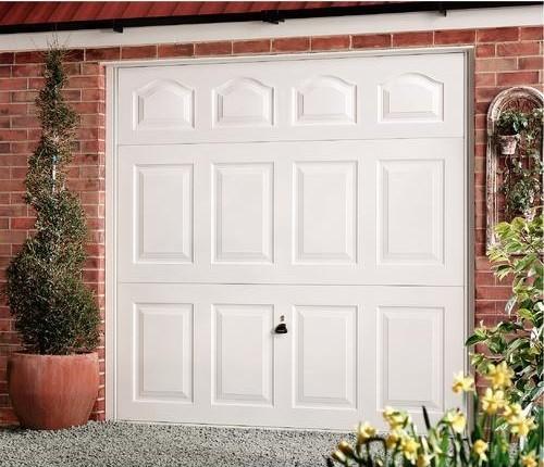 Cathedral Canopy Garage Door