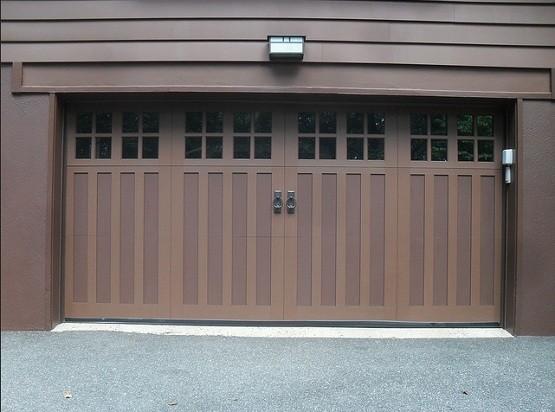 Fiberglass garage doors and the characteristics home for Wood like garage doors