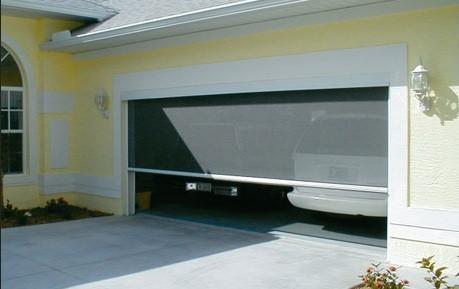 Garage door screen panels by Envy Power Screen Home Interiors