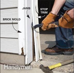 Jamb And Trim Removing Process
