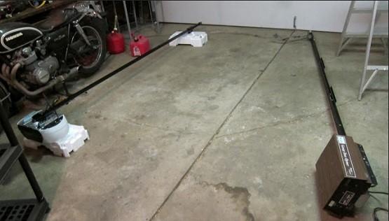Replacing old garage door opener with new one home interiors